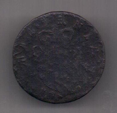 1/2 пенни 1745 г. Ирландия. Великобритания