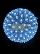 Шар светодиодный 220V, диаметр 20 см, 200 светодиодов, цвет белый