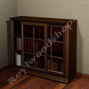 """Книжный шкаф """"Лондон СИТИ-С орех"""""""