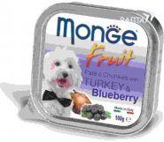 Monge Dog Fruit Консервы для собак индейка с черникой (100 г)