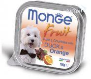 Monge Dog Fruit Консервы для собак утка с апельсином (100 г)