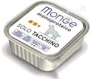 Monge Dog Monoproteico Solo Tacchino Паштет для собак из индейки (150 г)