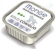 Monge Dog Monoproteico Solo Coniglio Паштет для собак из кролика (150 г)
