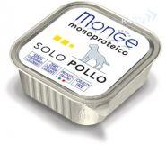 Monge Dog Monoproteico Solo Pollo Паштет для собак из курицы (150 г)