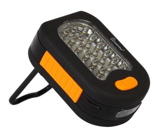 Светодиодный фонарь 24+3 LED на магните Smartbuy Missouri, черный