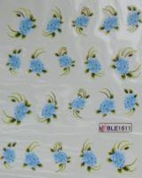 Водная наклейка для дизайна ногтей BLE-1611