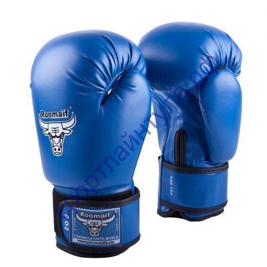 Боксёрские перчатки RBG-102 Кожа (100%) Blue