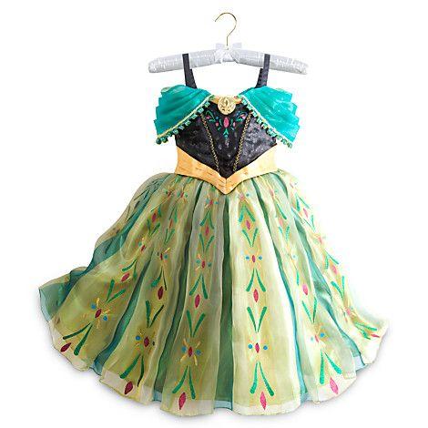 """Костюм коронация Анны """"Холодное сердце """" Люкс - платье Дисней Disney Princess 9/10лет"""