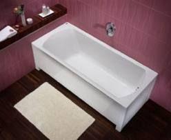 Ванна Moln оснащена регулируемым каркасом 160x75cm