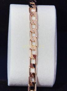 Позолоченная цепочка или  браслет, 8 мм (арт. 250121)