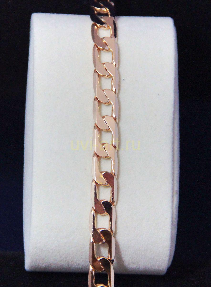Позолоченная цепочка / браслет, 8 мм