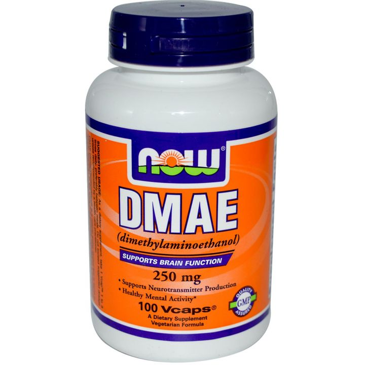 NOW - DMAE 250mg (100 капс)