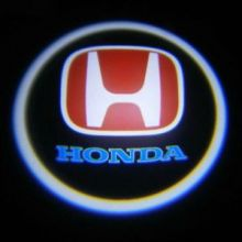 """LED проекция логотипа, """"приветственный свет"""", к-кт на 2 двери"""