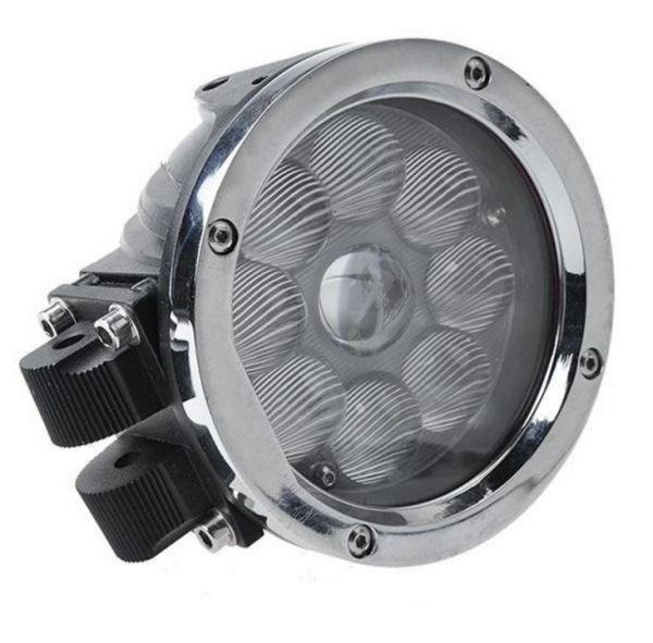 Круглая светодиодная LED фара ближнего света 45W