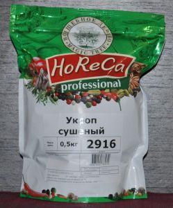 HORECA ПАКЕТ 0,5 КГ УКРОП СУШЕНЫЙ