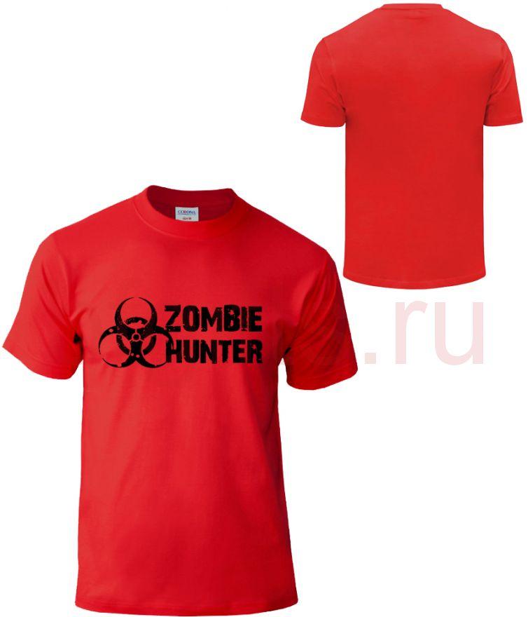 Zombie Hunter футболка