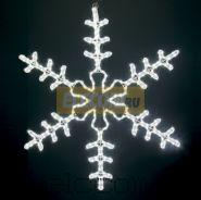 """Фигура световая """"Большая Снежинка"""" цвет белый, размер 95*95 см NEON-NIGHT"""
