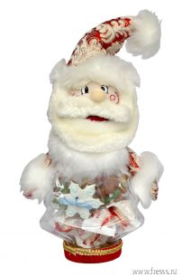 """Подарок """"Дед Мороз"""", конфеты Raffaello и Dove Promises"""