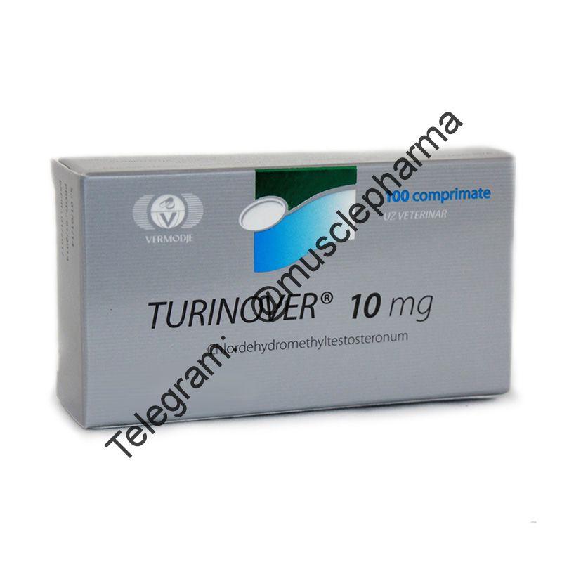 TURINOVER (ТУРИНАБОЛ). 100 таб. по 10 мг.