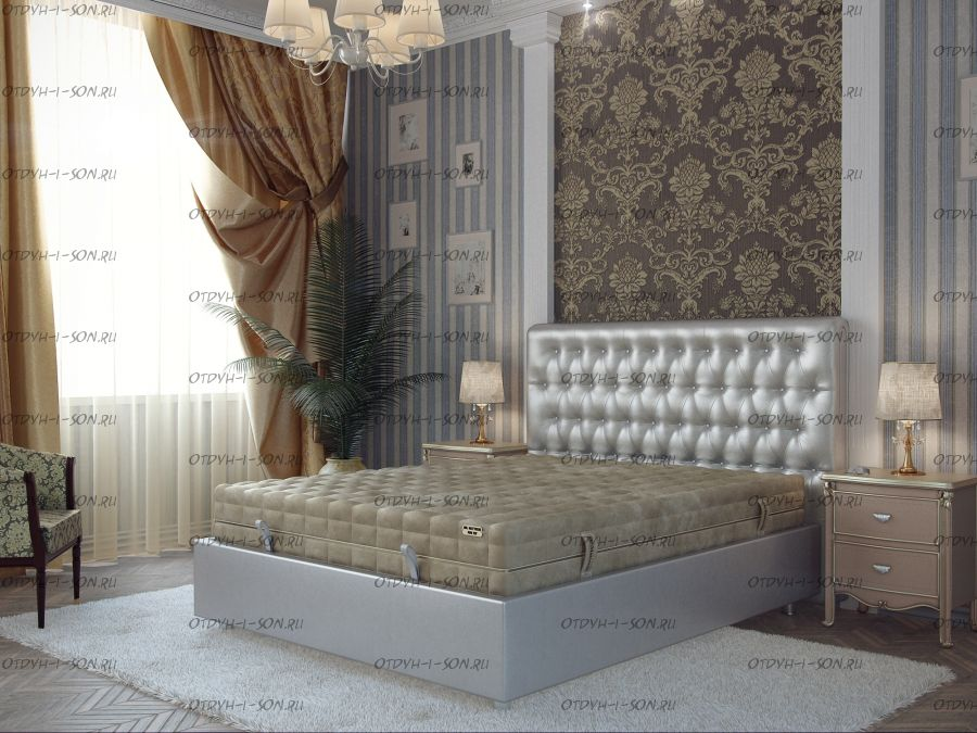 Кровать Fine Box №30 с изголовьем Pride H-2 Mr.Mattress
