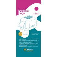 Ferplast Гигиенические пакеты для туалетов Nip 20, Bella, Prima и Moderna