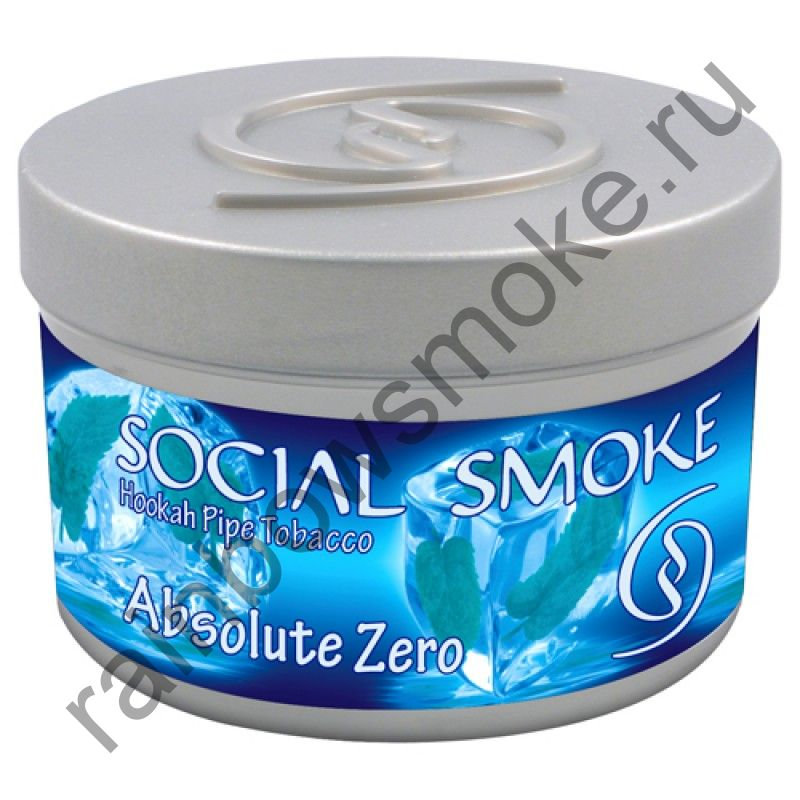 Social Smoke 250 гр - Absolute Zero (Абсолютный Ноль)