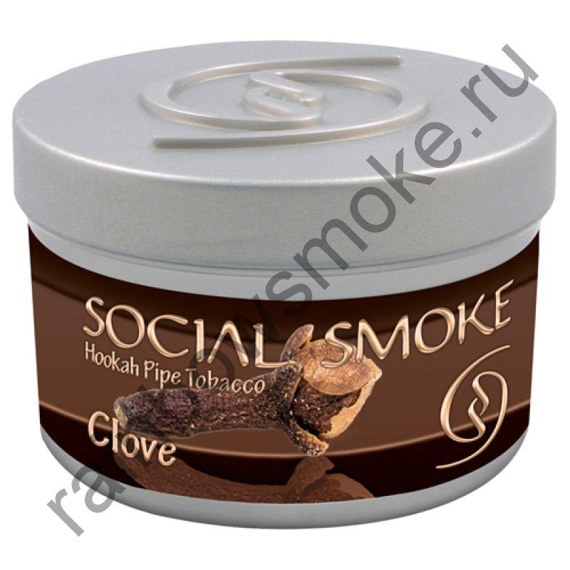 Social Smoke 250 гр - Clove (Гвоздика)