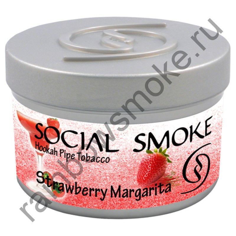 Social Smoke 250 гр - Strawberry Margarita (Клубничная Маргарита)