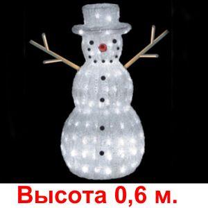 Фигура «Снеговик-лесовик»