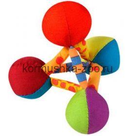 """Petstages игрушка для собак Mini """"Пирамида текстильная"""""""