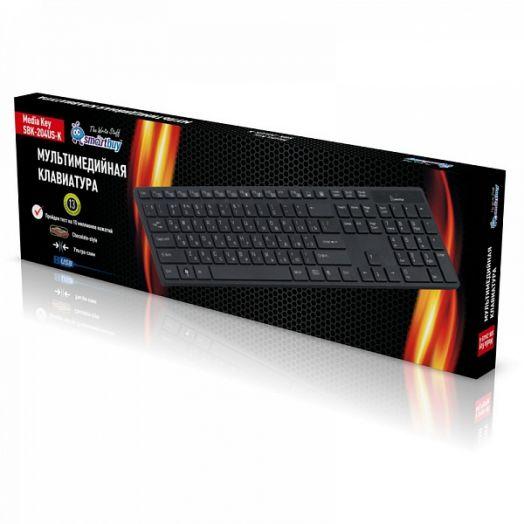 Клавиатура проводная мультимедийная Smartbuy 204 USB
