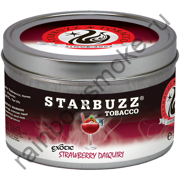 Starbuzz Exotic 100 гр - Strawberry Daiquiri (Клубничный Дайкири)