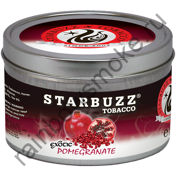 Starbuzz Exotic 100 гр - Pomegranate (Гранат)