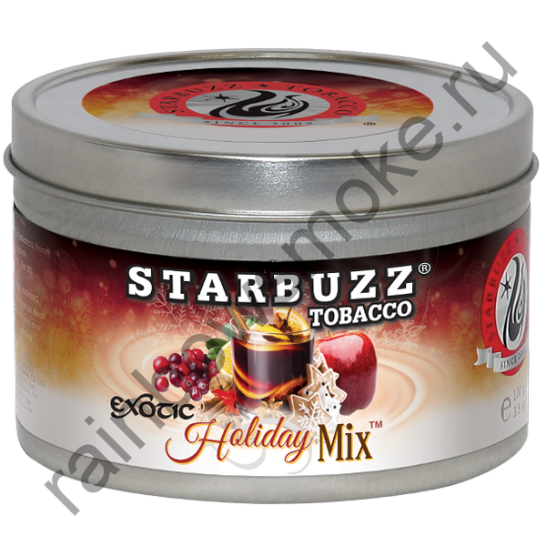 Starbuzz Exotic 100 гр - Holiday Mix (Холидей микс)