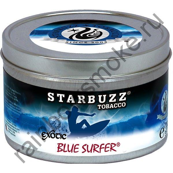 Starbuzz Exotic 250 гр - Blue Surfer (Блю Сёрфер)