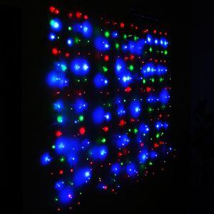 """Занавес """"Светлячок"""" разноцветный, 1.6х1.6м"""