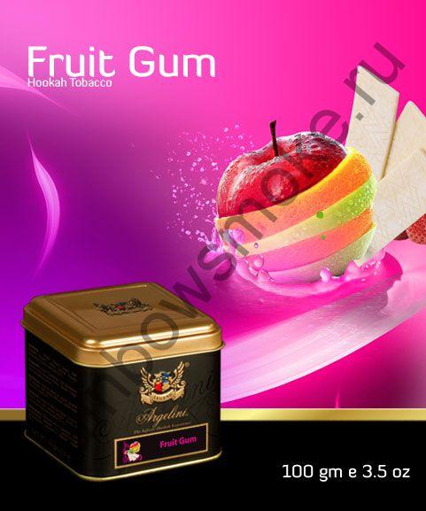 Argelini 100 гр - Fruit Gum (Фруктовая Жвачка)