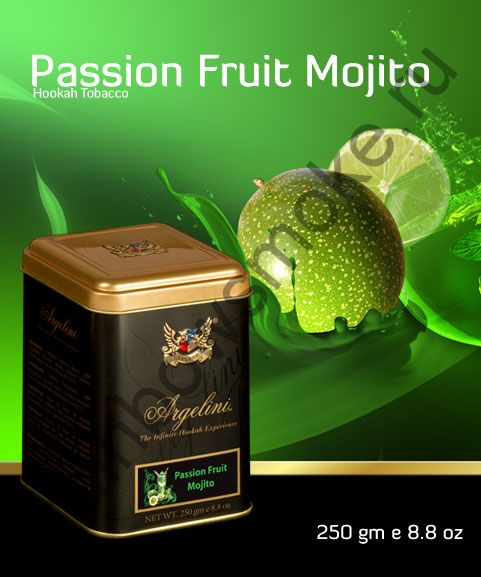 Argelini 250 гр - Passion Fruit Mojito (Маракуйя Мохито)