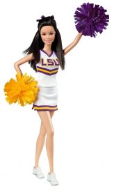 Кукла Барби Университет Луизианы, серия Чирлидеры, BARBIE