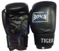 Боксерские перчатки RONIN TIGER Y713T натуральная кожа