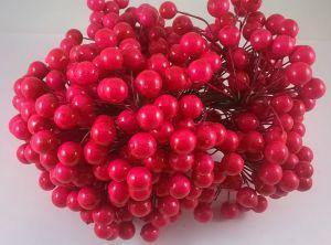 Ягоды 10 мм (длина 16см). 1 уп = 400 ягодок, Арт. ЯГ0004
