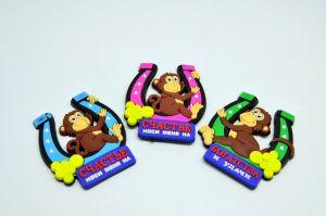 Магнит Подкова с обезьяной
