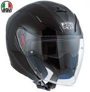Шлем AGV K-5 Jet Mono Pinlock, черный матовый