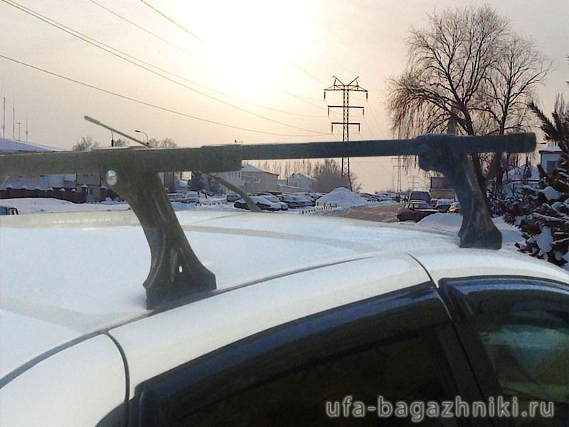 Багажник на крышу Datsun On-Do, Datsun Mi-Do, Евродеталь, стальные дуги