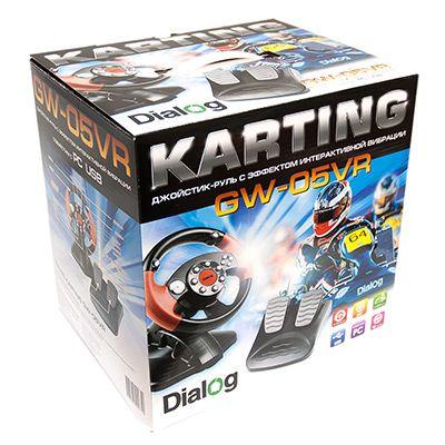 Джойстик-руль Karting с эффектом вибрации GW-05VR