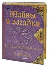 """Набор подарочный """"Школа волшебства: тайны и загадки"""" серия Мини-маэстро"""