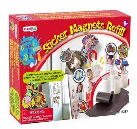 Запасные блоки к набору для создания магнитов Playgo