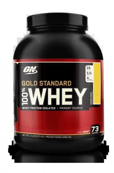 OPTIMUM NUTRITION 100% Whey Protein Gold standard 5 lb (2,27кг.)  скл2 1-2дня