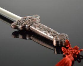 Супер глотание меча (ручка металл)