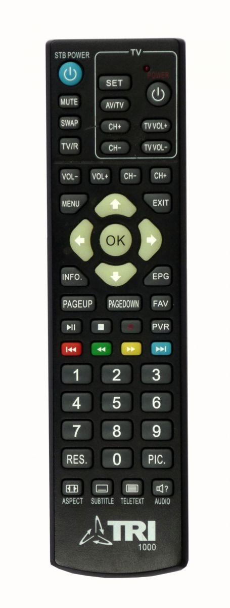 Пульт для TRI-TV (ТРИ-ТВ) 1000